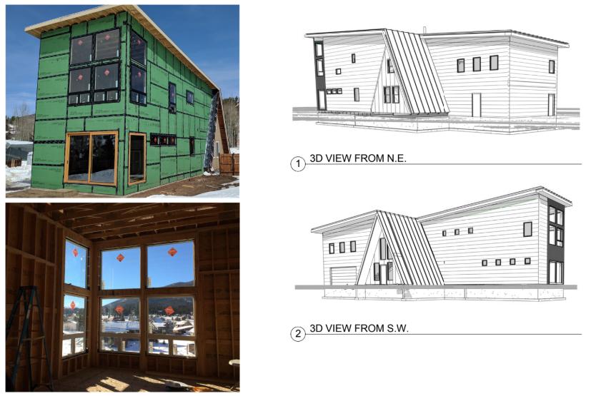 A-Frame Custom Home Project
