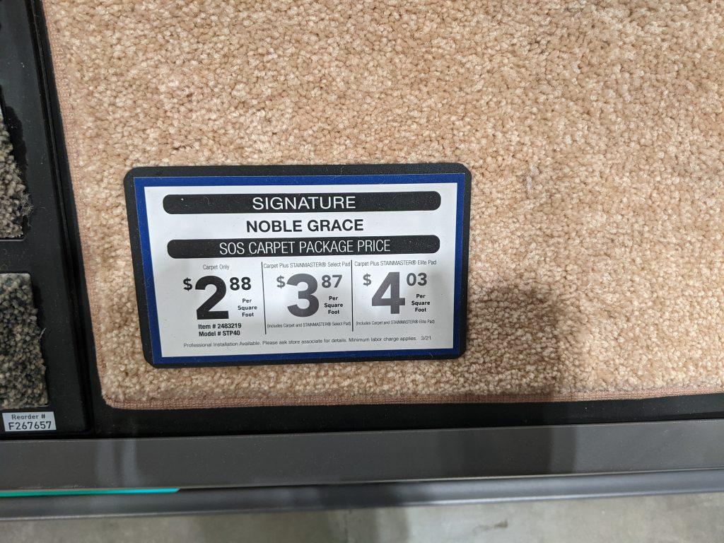 signature carpet