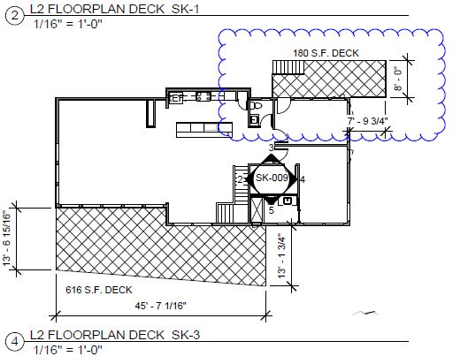 peninsula deck design